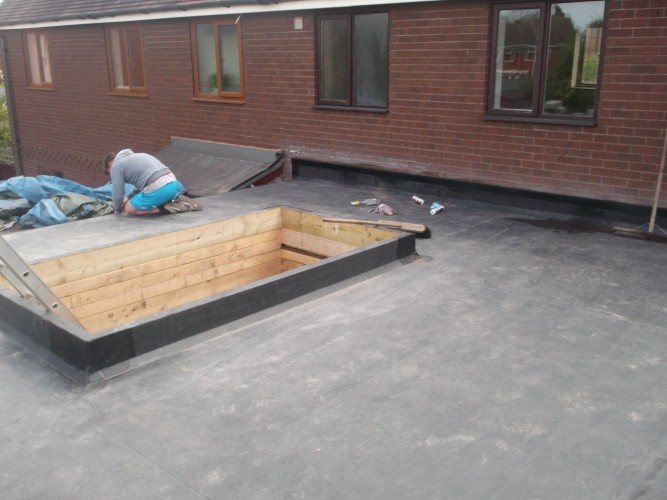 EDPM Rubber Roof 4